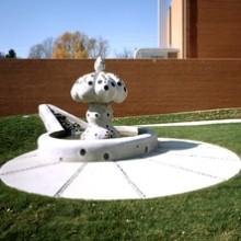 Depauw University Fountain